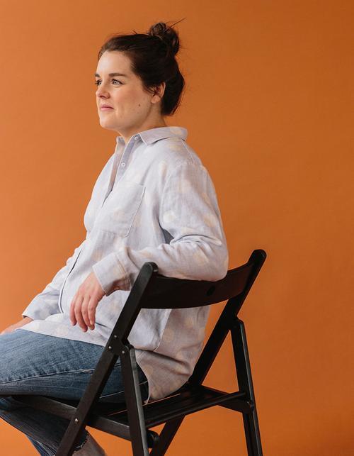 pregnancy-work-blouse-linen